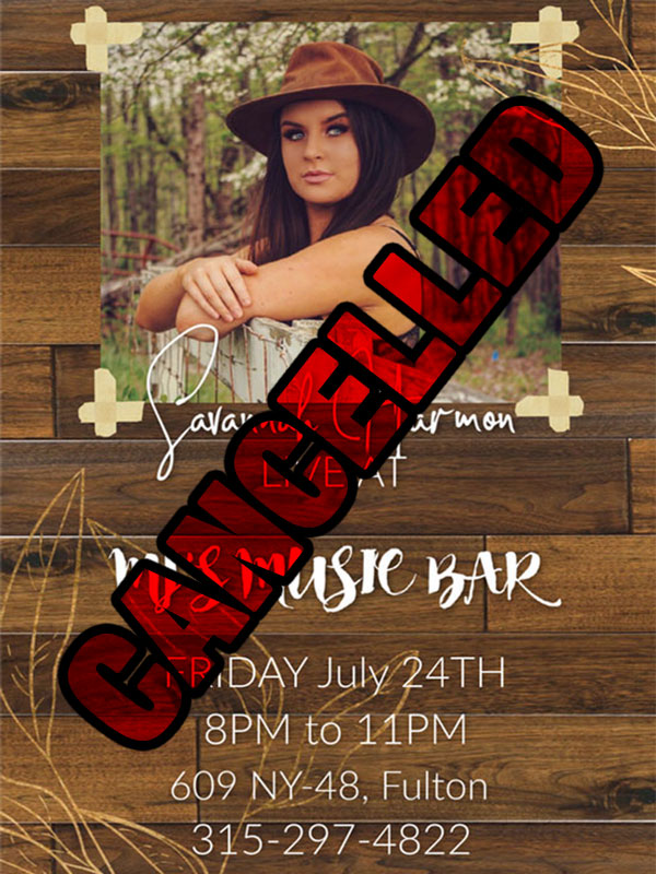 Savannah Harmon 07/24/20 Cancelled