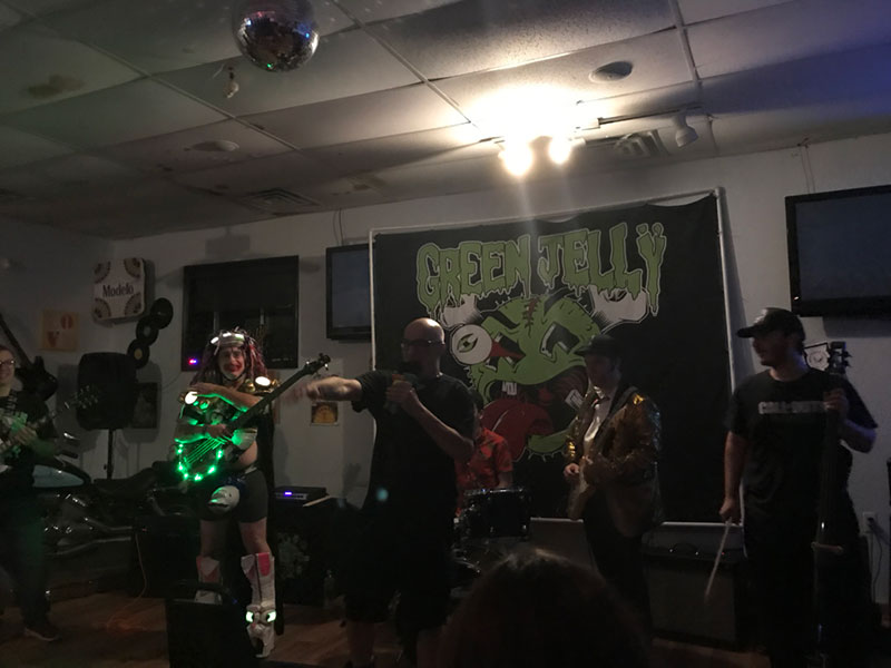 Green Jelly on 09/06/19.