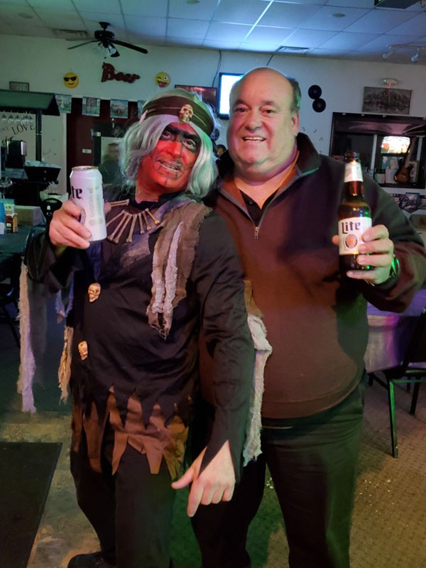 Annual Halloween Dress-up Party on 10/26/19.