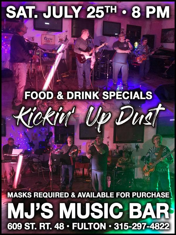 Kickin Up Dust 07/25/20